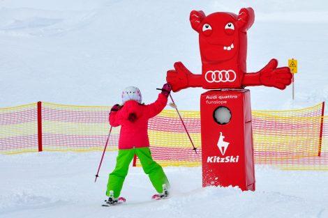 Clap auf der funslope © Skiing Penguin