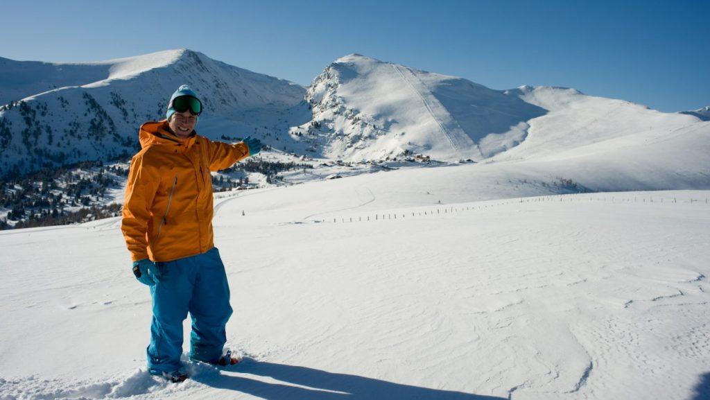 Der 2308 Meter hohe Falkertspitz in der Bildmitte © Heidi-Alm