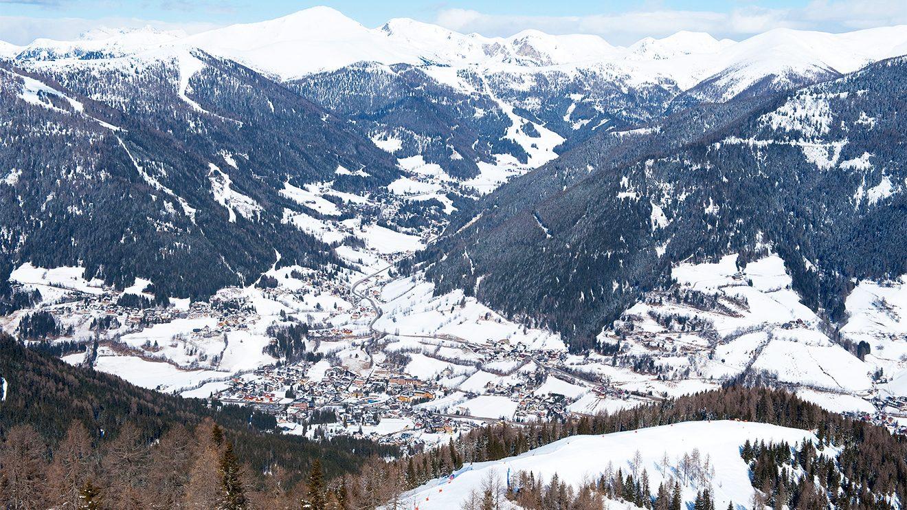 Das Skigebiet Bad Kleinkirchheim erstreckt sich von der Kaiserburg bis nach St. Oswald