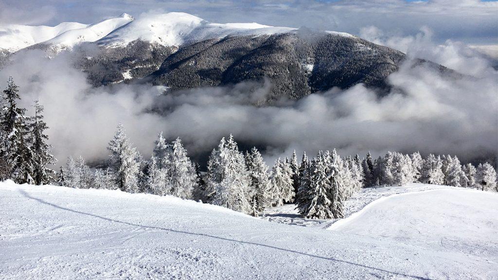 """Das Skigebiet Bad Kleinkirchheim ist umgeben von """"Nockalan"""""""