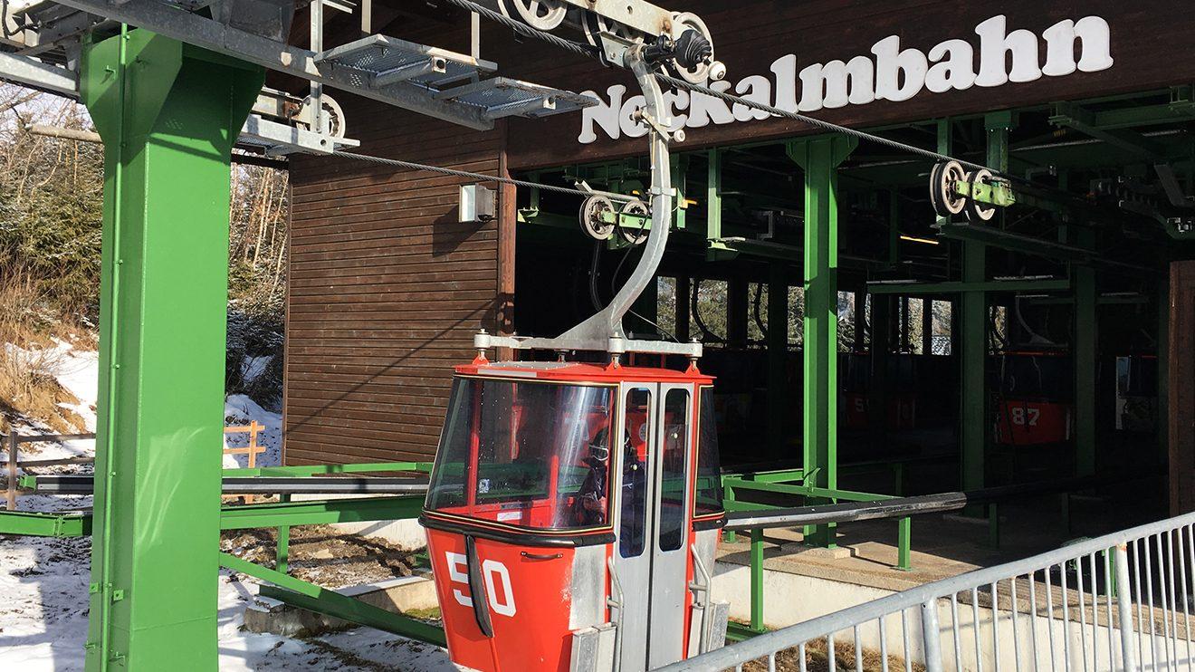 Die Nockalmbahn in Bad Kleinkirchheim