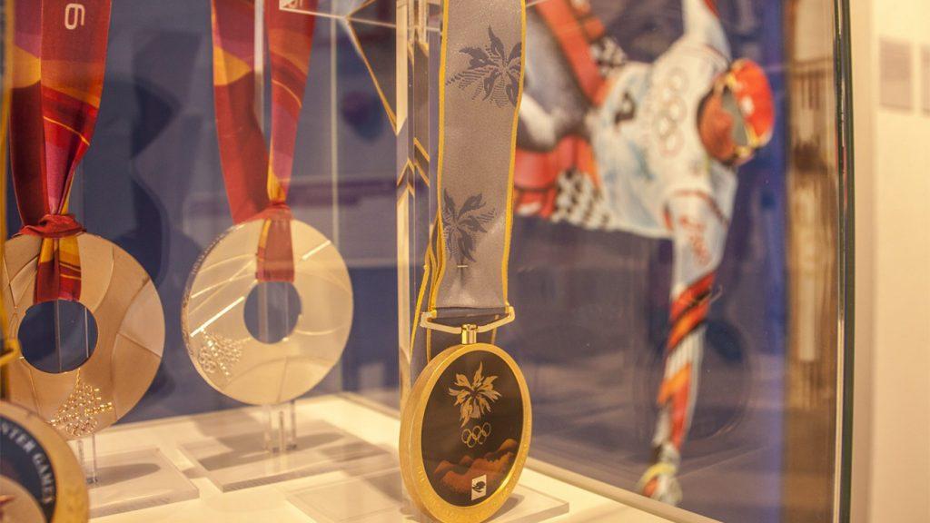 Hermann Maiers Olympia-Medaillen © Flachau Tourismus