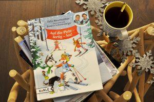 Felix Neureuthers Kinderbuch Auf die Piste fertig los