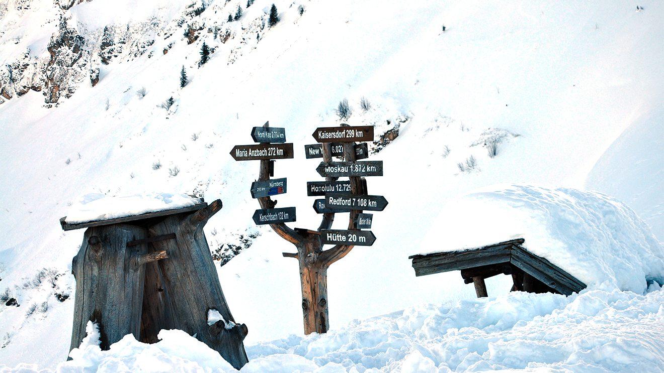 Zur Orientierung für alle mit Fernweh © Skiing Penguin