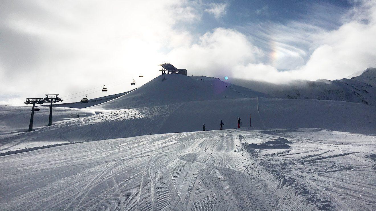 Am 2205 m hohen Kornock kann es ganz schön frisch sein