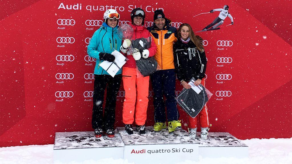 """""""Skiing Penguin"""" auf Platz 1 – die Kristallkugel zieht leider mit dem Audi quattro Ski Cup weiter © Skiing Penguin"""