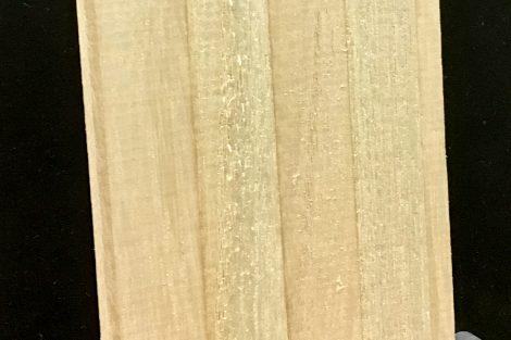 Besonders leichtes Carubaholz wird als Tourenskikern verwendet © Skiing Penguin