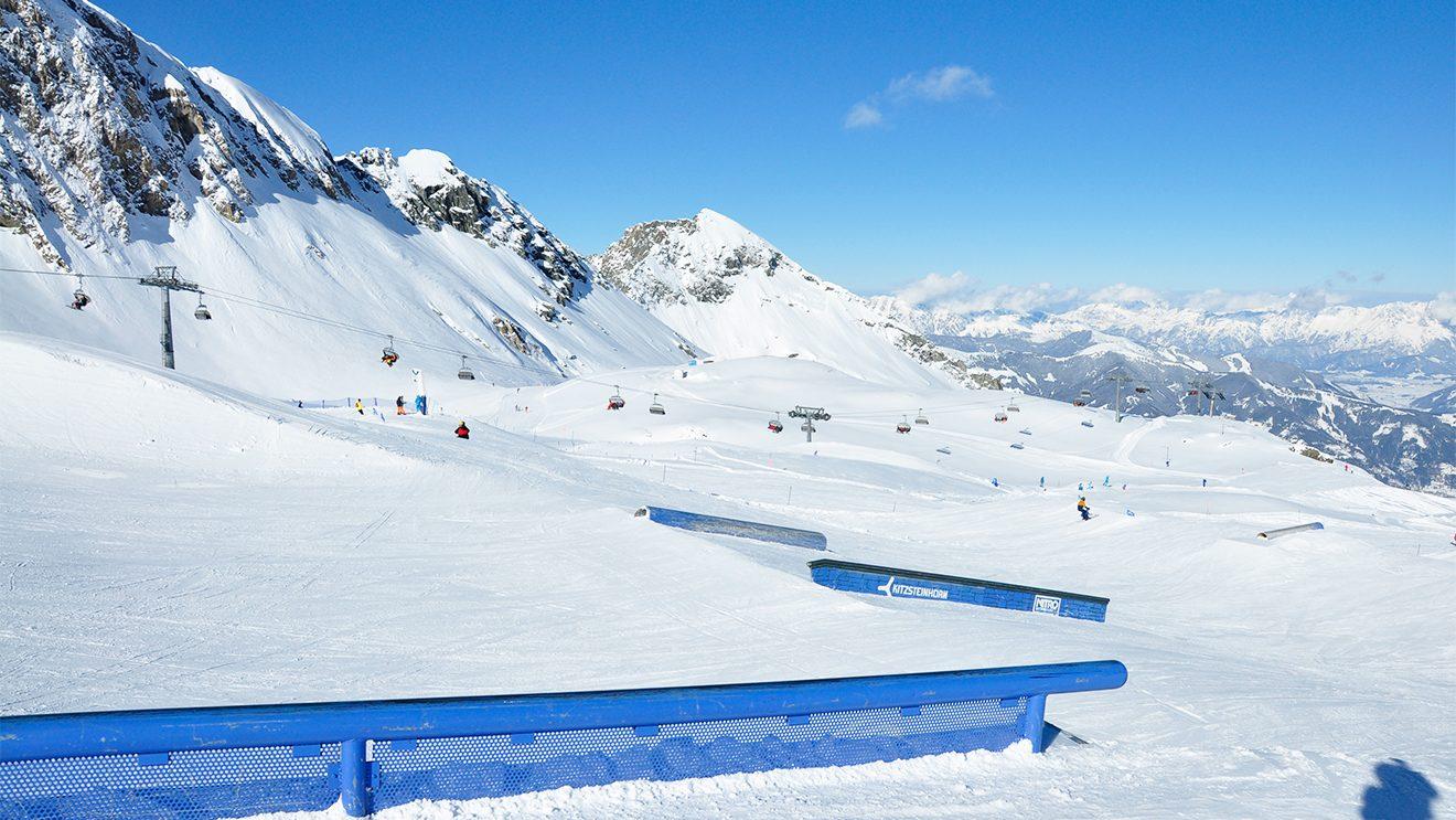"""Der """"Easy Park"""" lädt zum Üben ein © Skiing Penguin"""