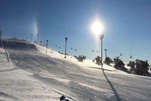 """Gondoli 2000"" führt zur Slalomstrecke © Skiing Penguin"