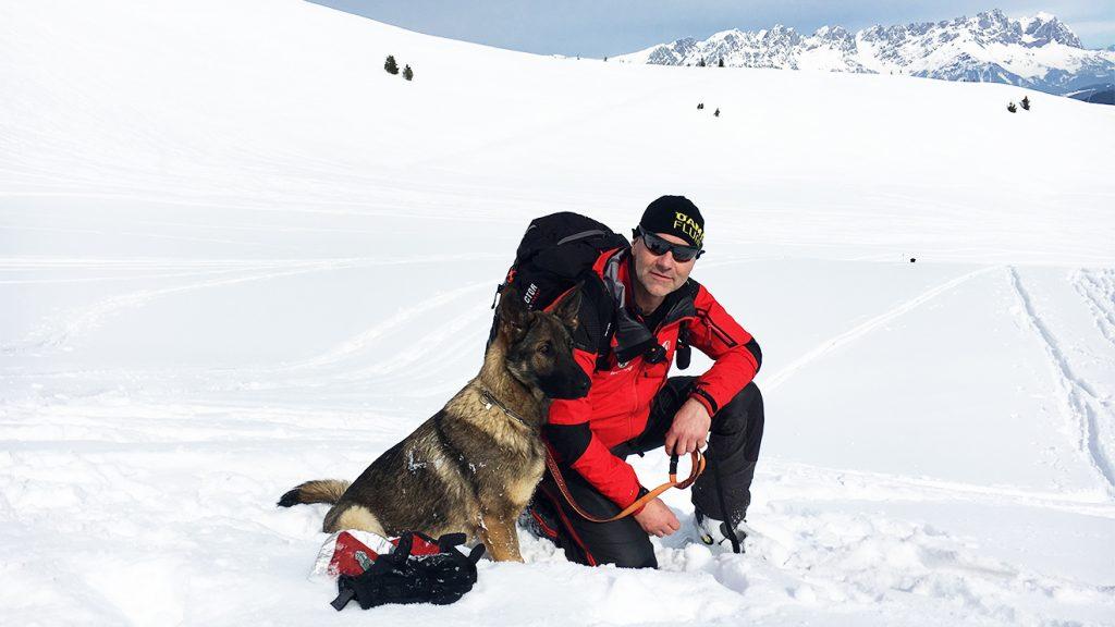 Stefan Fuchs und seine Malu © Skiing Penguin