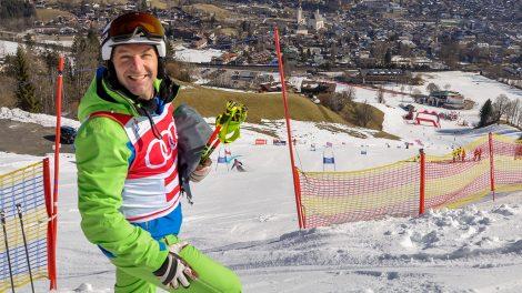 Hans Knauss am Ganslernhang © Skiing Penguin