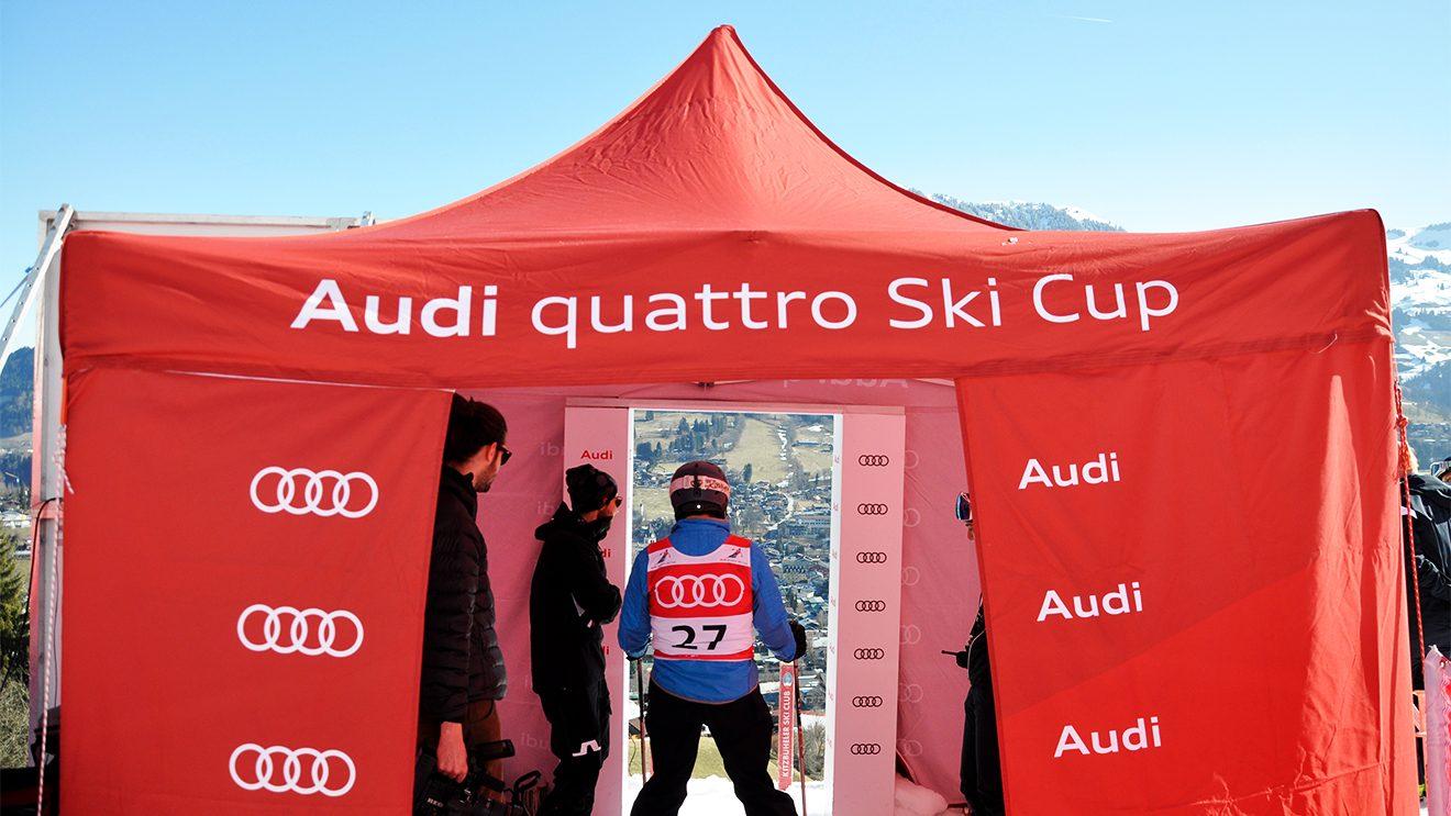 Noch wenige Sekunden bis zum Start ... © Skiing Penguin