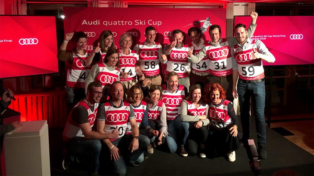 Hans Knauß motivierte, beruhigte und bespaßte das Team Österreich © Skiing Penguin