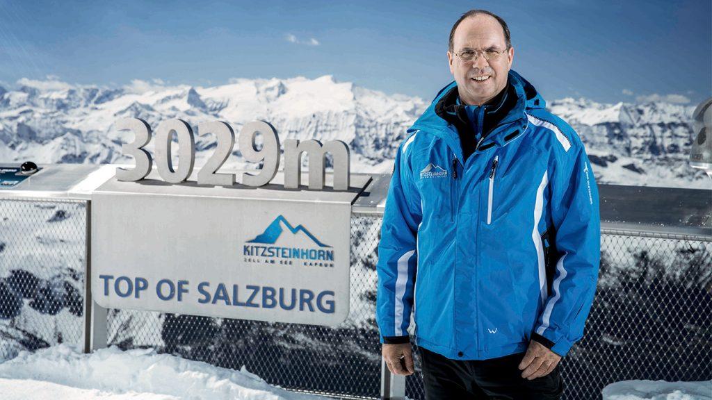 Gletscherbahnen-Vorstand Norbert Karlsböck © Gletscherbahnen Kaprun AG