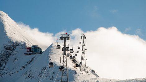 Schöne Aussichten für Österreichs Seilbahnen (auch am Kitzsteinhorn) © Skiing Penguin