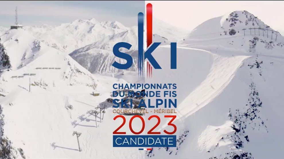 """Together"" zur WM: Courchevel und Meribel © Courchevel Méribel 2023/FFS"