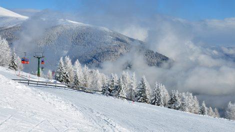 Ein Bilderbuch Winter (in Bad Kleinkirchheim 2018) © Skiing Penguin