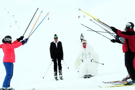 Hochzeit auf 3440 Metern © Pitztaler Gletscherbahn