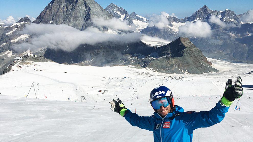 Philipp Schörghofer im Schweizer Zermatt © Privat