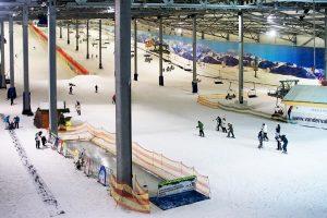 Ein Blick in Wittenburgs Skihalle © Alpincenter