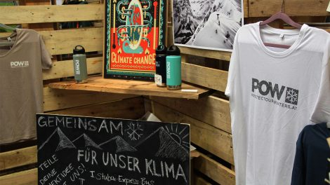 Gegen den Klimawandel, für den Schnee © POW Österreich