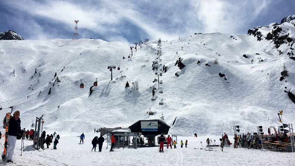 Ein Tag am Kitzsteinhorn 2018 © Skiing Penguin