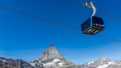 Perfekte Aussicht auf das Matterhorn © Marc Kronig