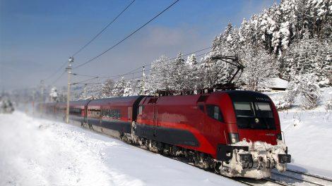 Mit dem Railjet in den Winterurlaub ©ÖBB/Posch