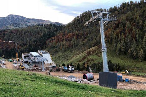 Die neue Talstation der Raintalbahn © Skiing Penguin
