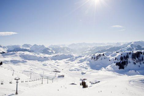 17 Millionen Euro wurden am Kitzbüheler Horn investiert © KitzSki_Werlberger