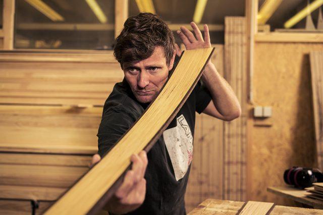 """Michael Freymann ist """"gelernter Skifahrer"""" © Spurart"""