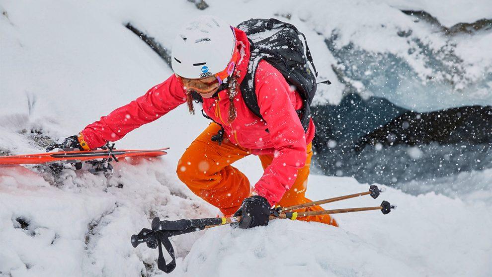 Ein Skianzug wie jeder andere – aber aus recyceltem Polyester © PYUA