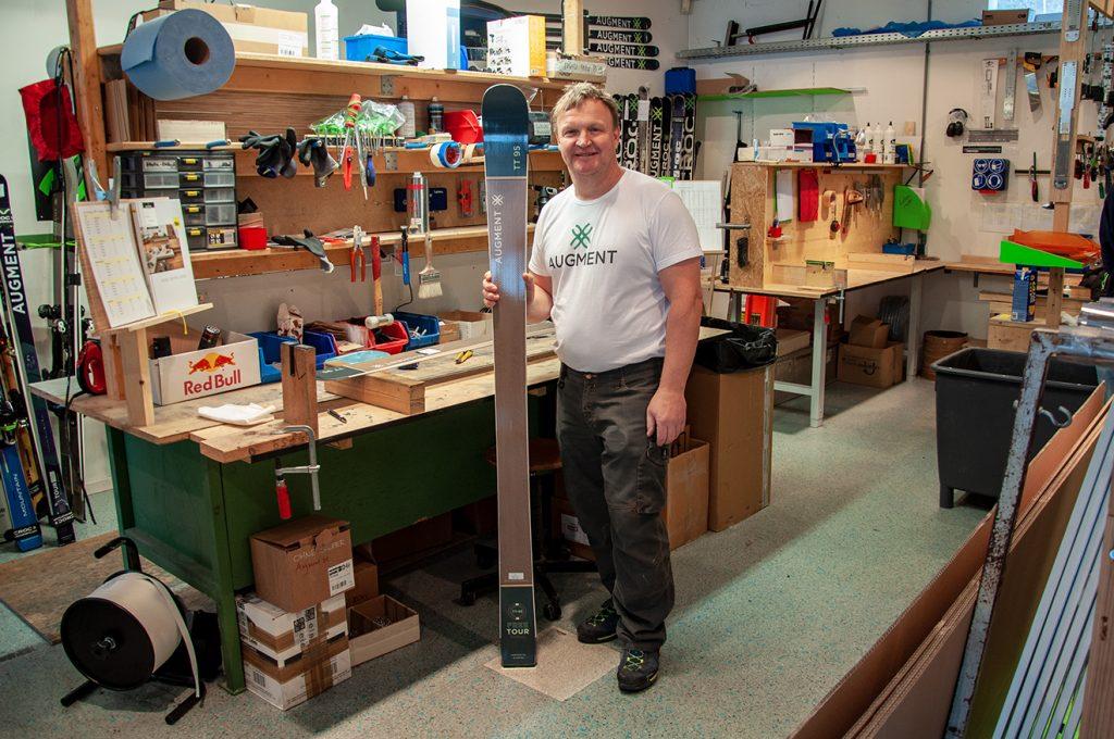 Mike Kogler, einer der Gründer von Croc bzw. Augment © Skiing Penguin