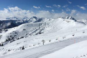 Ein Wintertag in Tirol im März 2018 © Skiing Penguin