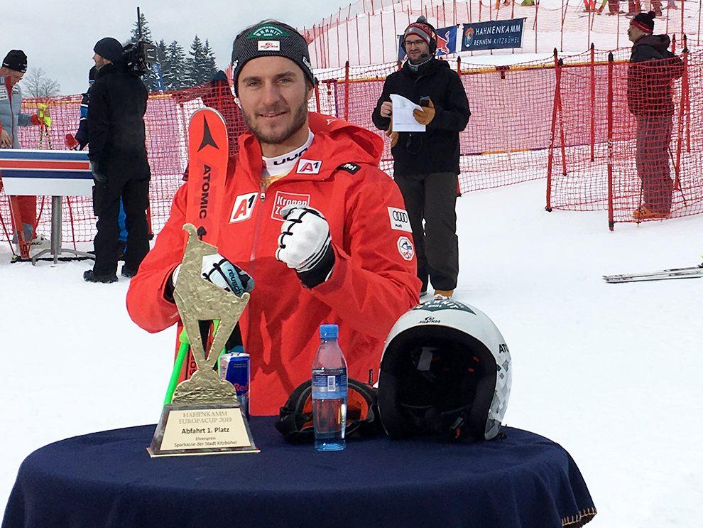 Streif-Sieger Daniel Danklmaier © Skiing Penguin