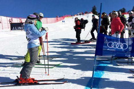 Michaela Kirchgasser gibt Tipps © Skiing Penguin