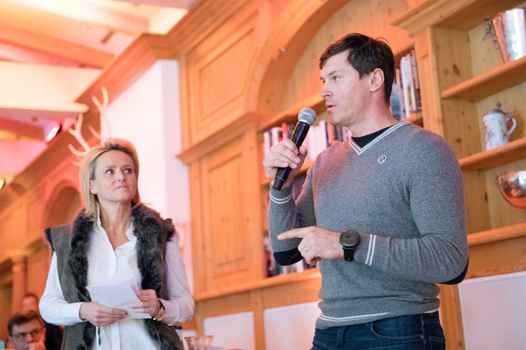 Zwei Skilegenden: Alexandra Meissnitzer und Ivica Kostelic © MHM Majors