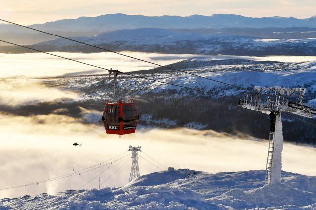 Winteridylle in Åre © Nisse Schmidt