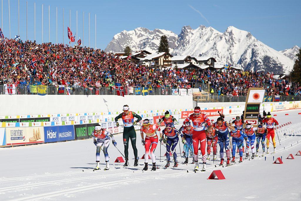 Die Bilder der Nordischen Ski-WM in Seefeld gingen um die Welt © Tirol Werbung/GEPA/Christopher Kelemen