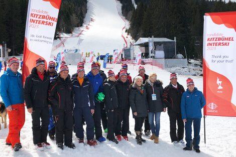 Die Kitzbühel-Delegation in Pamporovo © Skiing Penguin