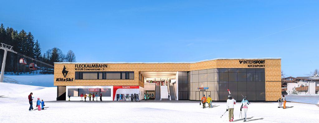 Am 14. Dezember wird die neue Fleckalmbahn eröffnet © Bergbahn Kitzbühel