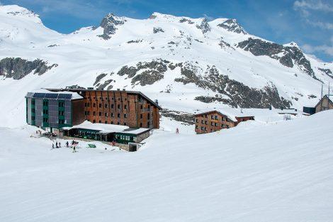 Die Rudolfshütte am Weißsee - eine Institution seit 145 Jahren © Skiing Penguin