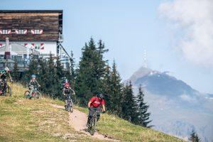 Mit der Hahnenkammbahn zum neuen Bike Trail an der Asten © Michael Werlberger