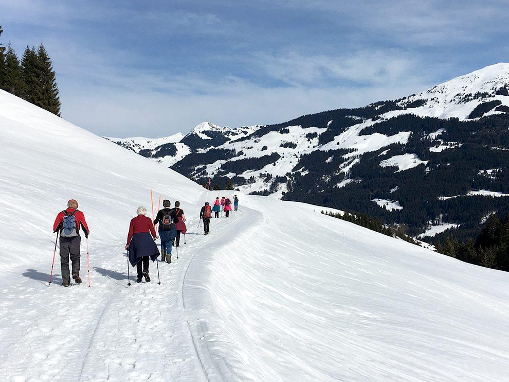 Winterwandern: ein Trendsport für alle © Skiing Penguin