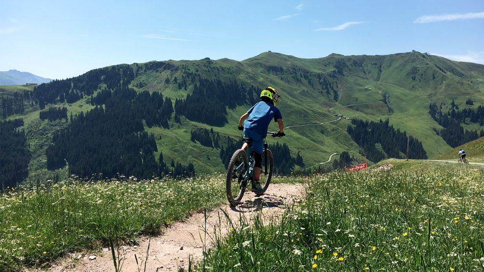 Bike Trail mit Panorama © Skiing Penguin