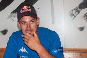 Dominik Paris beim Interview © Skiing Penguin