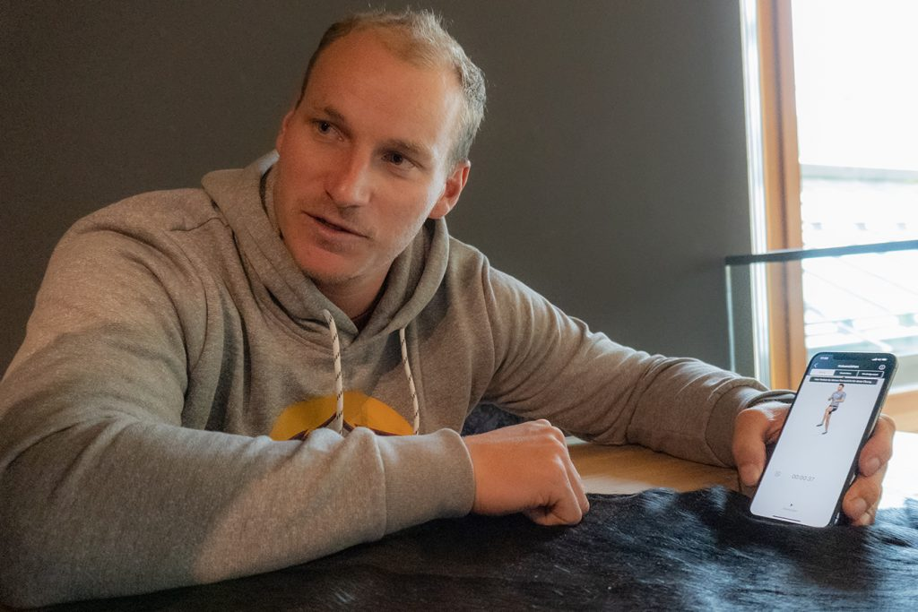 Christopher Hörls Zukunft gehört dem Coaching - auch digital © Skiing Penguin