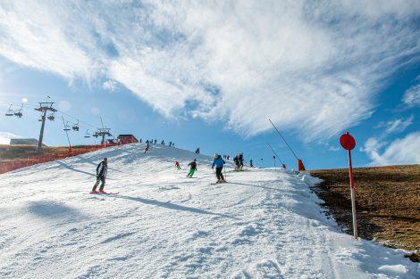 Die Piste ist 700 Meter lang und 60 Meter breit © Skiing Penguin