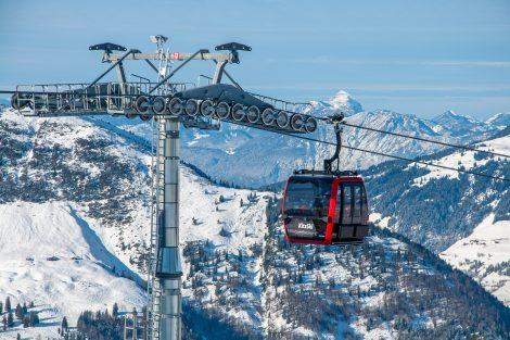 Neue Gondeln, altes Panorama © Skiing Penguin