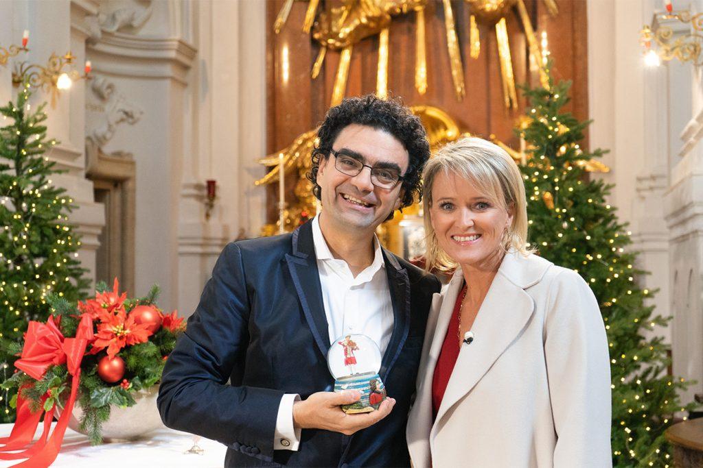 Auch Rolando Villazon gewährt Einblicke in seine Weihnachten © ORF/Carina Brunnauer